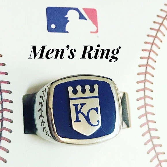 f1f5c6dc5a4c4b Kansas City Royals Men s Stainless Steel Ring